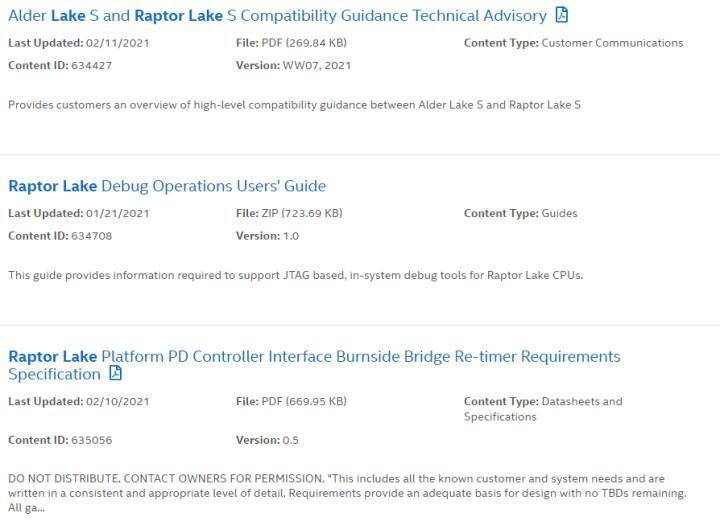Intel confirms Raptor Lake-S, will use same socket as Alder Lake