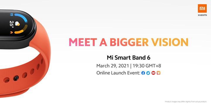 Xiaomi Mi Band 6'nın tanıtım tarihi açıklandı
