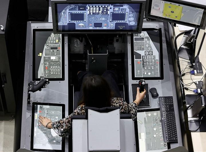 HAVELSAN developed a troubleshooting simulator for F-16s