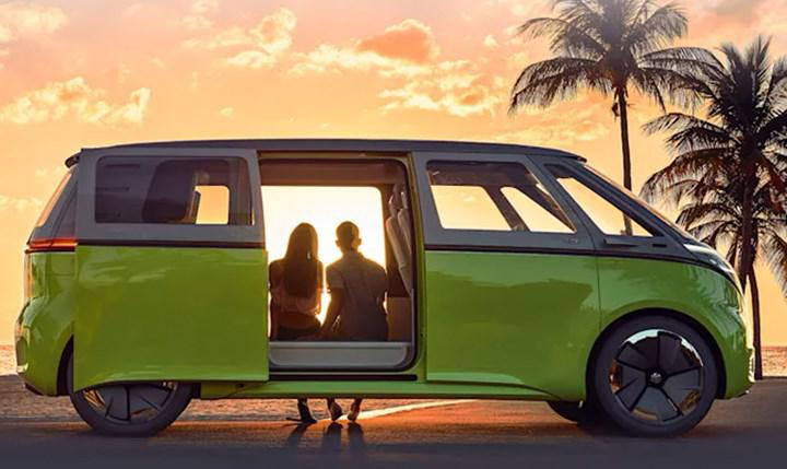 Volkswagen's electric van ID Buzz goes on sale in Europe
