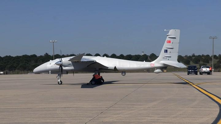 Akinci PT-3 completed its first flight test