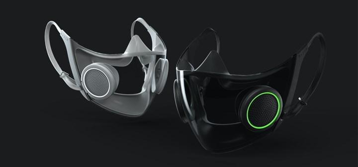 Razer begins production of smart face mask with RGB lighting