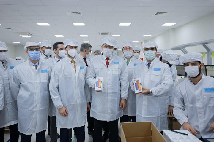 Xiaomi'nin Türkiye fabrikası resmen açıldı