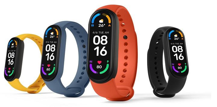 Mi Band 6 introduced: the first full-screen Mi bracelet