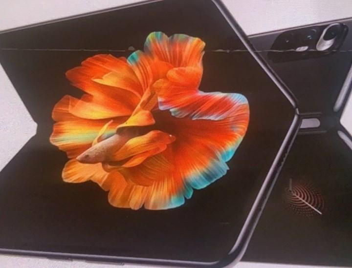 Xiaomi Mi MIX Fold modelinin basın afişi ortaya çıktı