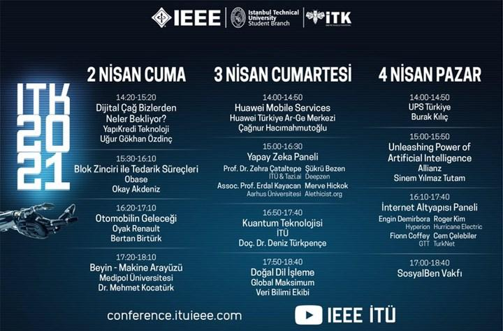 IEEE İTÜ Teknoloji Konferansı bu Cuma gerçekleşecek
