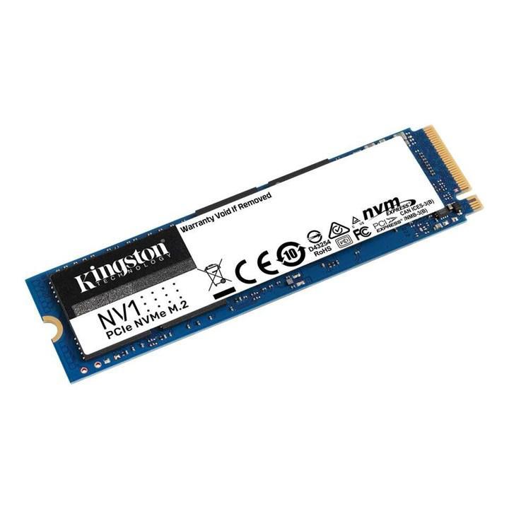 Kingston maliyete oynayan NV1 SSD sürücüsünü duyurdu