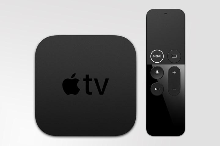 A brand new remote control is designed for Apple TV