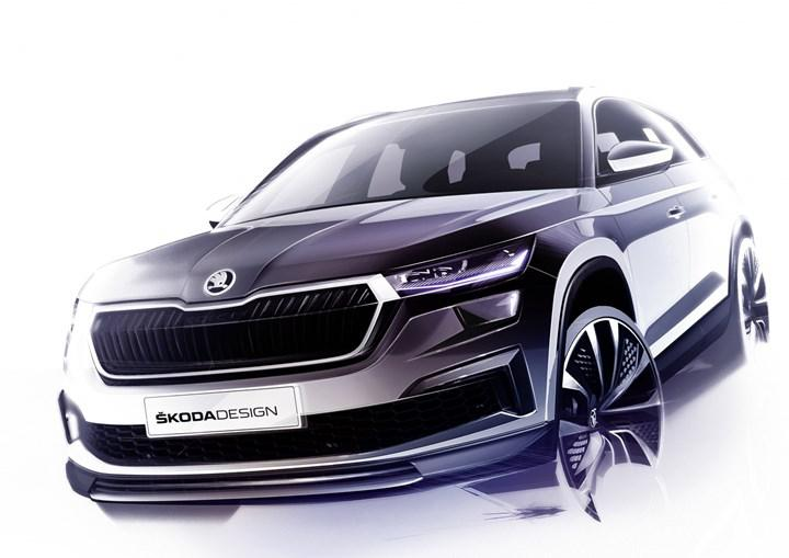 First clue images from Skoda Kodiaq with facelift