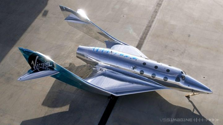 Virgin Galactic unveils new generation spaceship: VSS Imagine