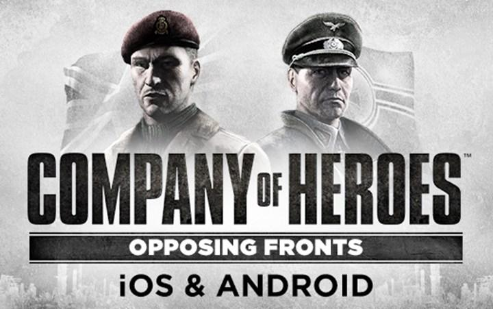 The Opposing Fronts expansion of the hit strategy game Company of Heroes is coming to mobile devices on April 13
