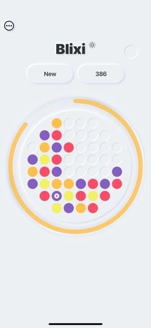Minimalist bulmaca oyunu Blixi, ücretsiz bir şekilde iOS için yayınlandı