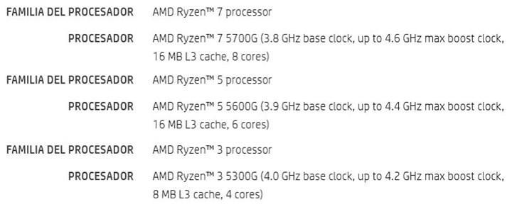 AMD Ryzen 5000G details leaked