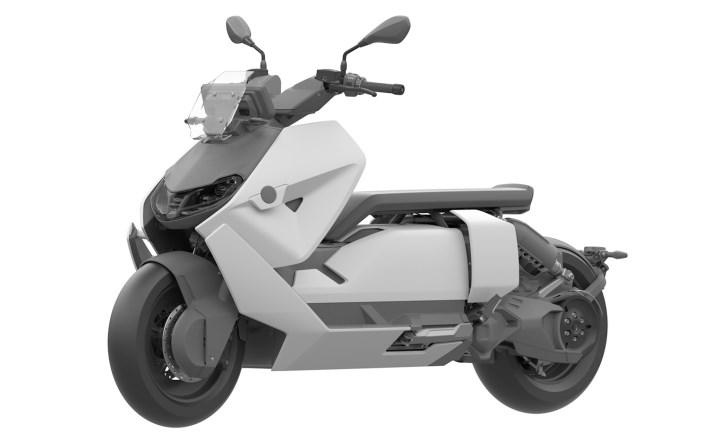 New images show BMW CE 04 electric motorcycle approaching production
