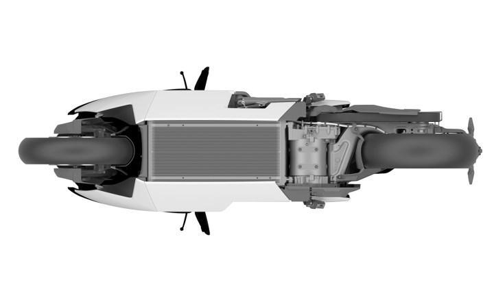 Yeni görseller BMW CE 04 elektrikli motosikletin üretime yaklaştığını gösteriyor