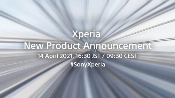 Sony Xperia event on April 14