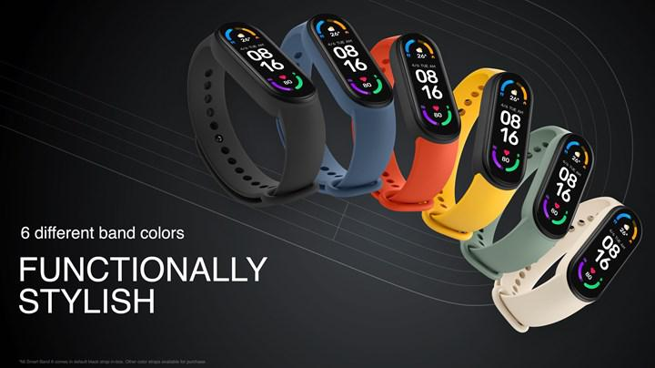 Xiaomi Mi Band 6 received a new update on the first day of sale