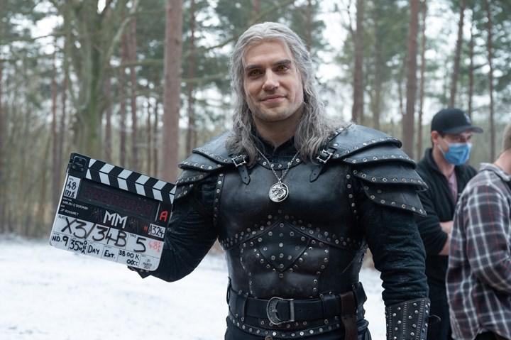 An image featuring Geralt from Season 2 of The Witcher has been released