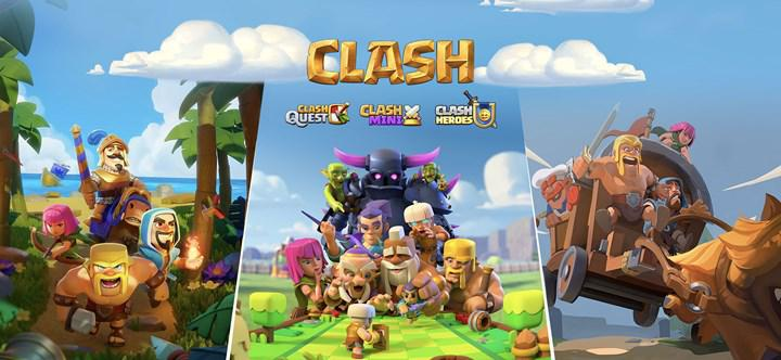 Supercell is preparing three new games from the Clash of Clans universe