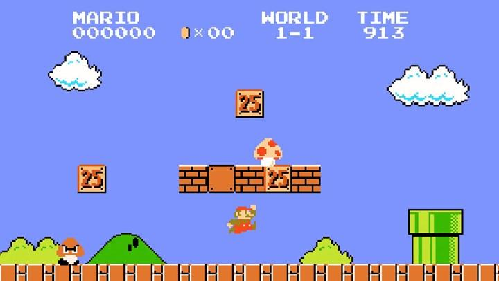 The most expensive game in history, Super Mario Bros.  it happened