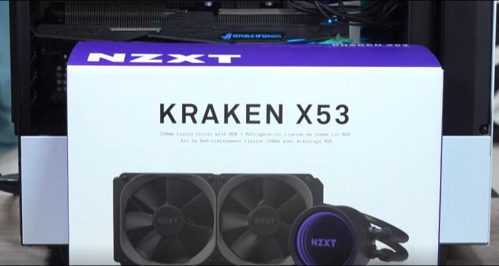 NZXT Kraken X53 incelemesi - Daha büyük ekran!