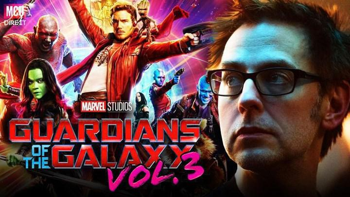 Statement by James Gunn about the filming of Guardians of the Galaxy 3
