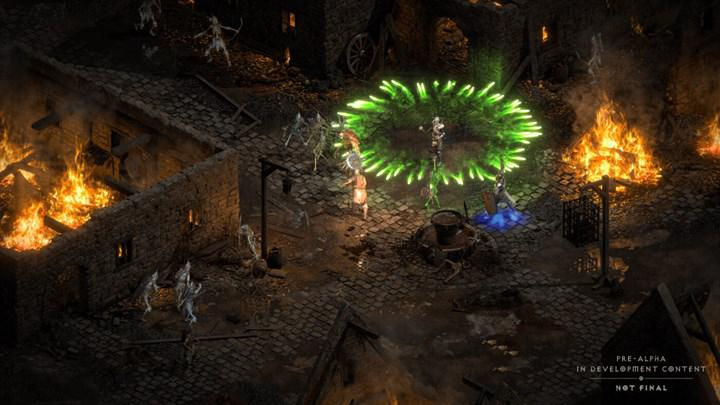 Diablo 2 Resurrected's alpha test begins this weekend