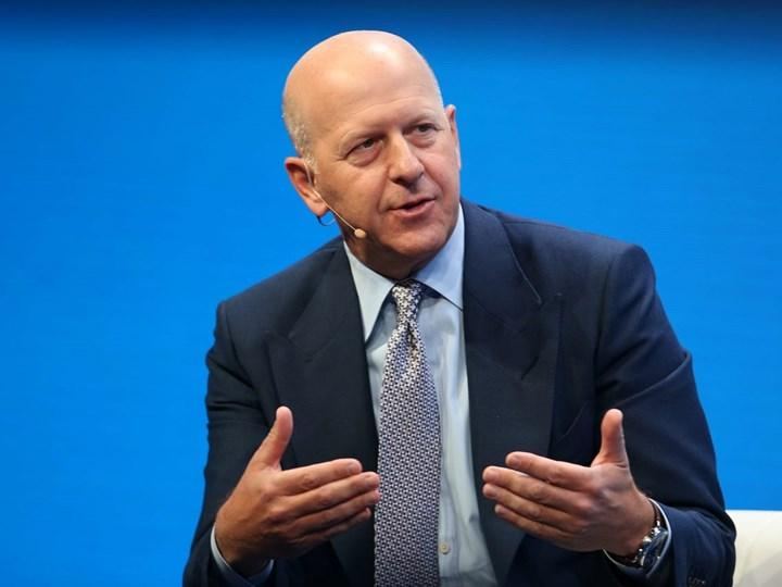 Cryptocurrency statement by Goldman Sachs CEO