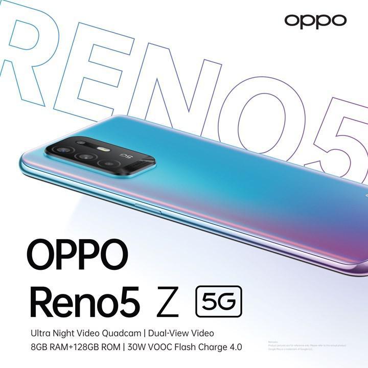 Oppo Reno5 Z 5G introduced, powered by Dimensity 800U