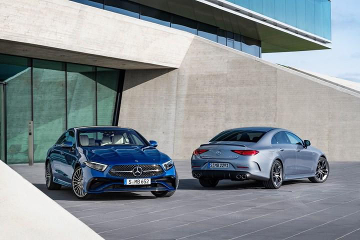 The facelifted Mercedes-Benz CLS arrives with a refreshed face and new mild hybrid option