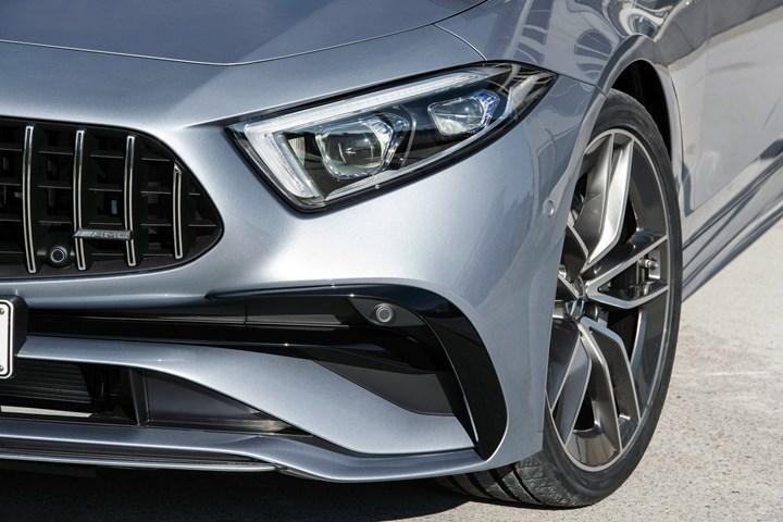Mercedes-Benz CLS facelift with refreshed face and new mild hybrid option