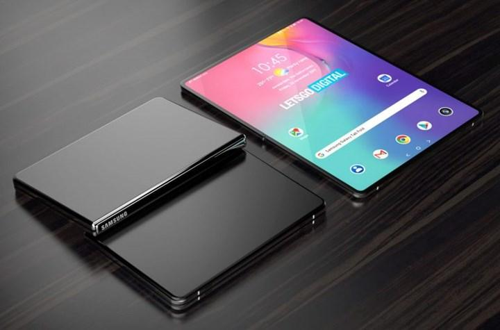 Samsung is working on a foldable tablet model