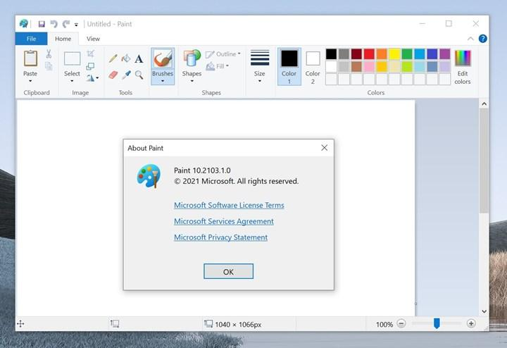Microsoft decided to separate Paint software from Windows 10