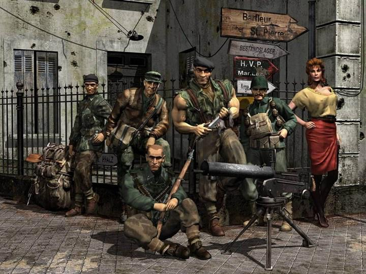 The German government has sponsored the new Commandos game: a large grant to the Origins project!