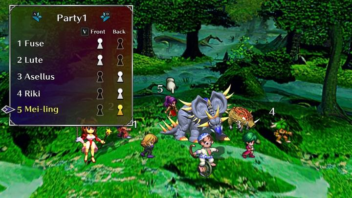 Video shared from the remastered version of 1998's SaGa Frontier, which will be released for mobile devices.