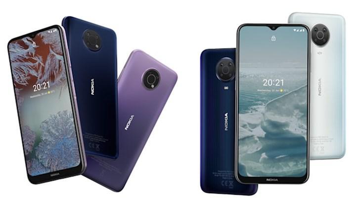 Nokia G10 ve G20 bütçenizi düşünüyor
