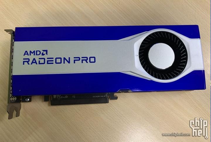 Navi 21 GPUlu Radeon Pro kartı görüntülendi