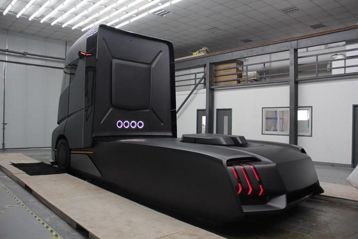 Tesla Semi'ye sıkı rakip geliyor: İşte Geely'nin elektrikli tırı
