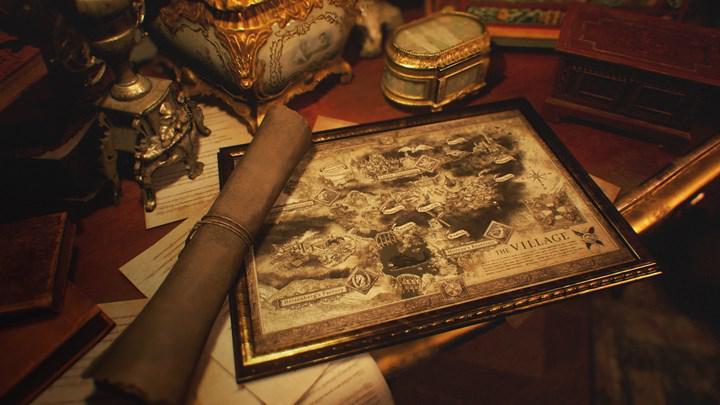 Resident Evil Village'ın PS5 versiyonunda performans ve grafik modları olacak; oyunun haritası paylaşıldı