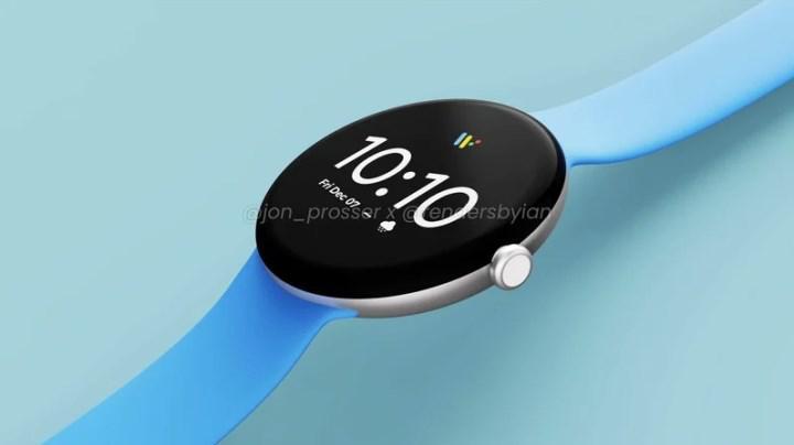 Google'ın ilk akıllı saati Pixel Watch sızdırıldı: İşte görüntüleri