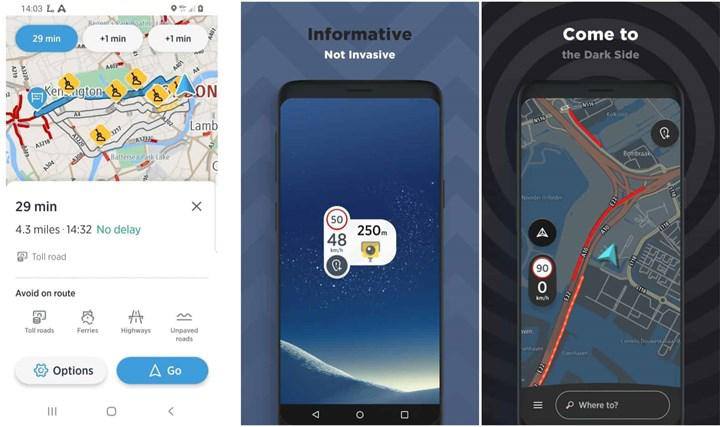TomTom AmiGO uygulaması Android Auto'ya geldi