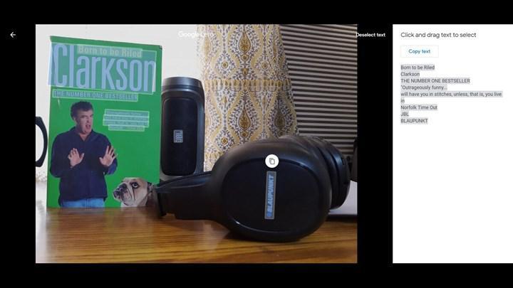 Google Lens teknolojisi Google Fotoğraflar'ın masaüstü sürümüne entegre edildi