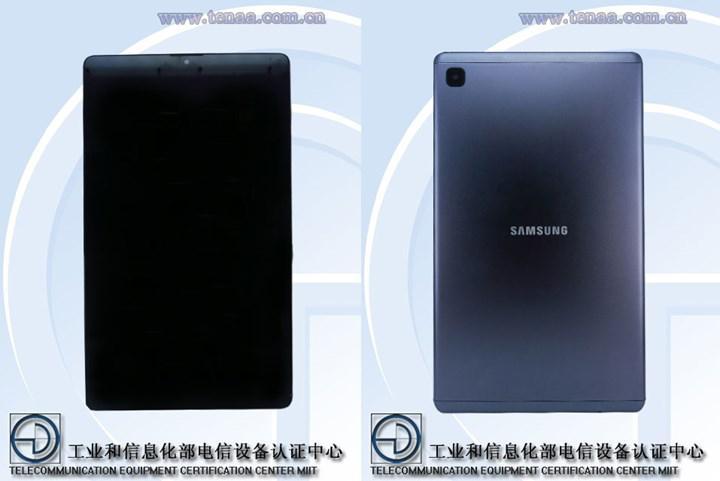 Samsung Galaxy Tab A7 Lite'ın özellikleri onaylandı: İşte tabletin ilk resmi görüntüleri
