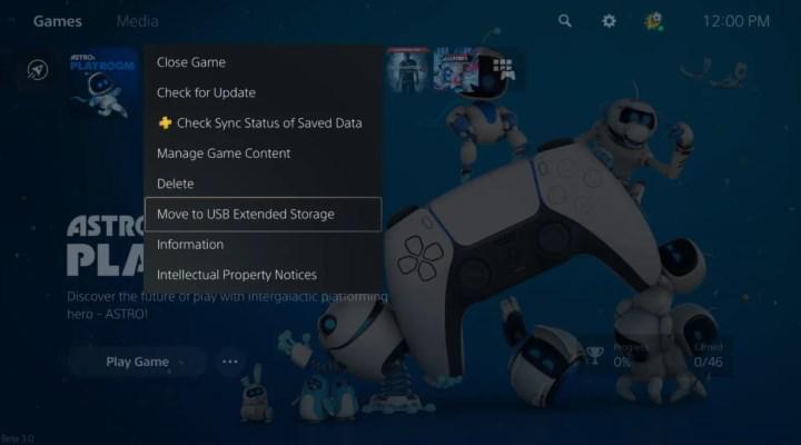 PS5'in ilk büyük güncellemesinin detayları açıklandı: Artık oyunları USB'ye depolayabileceksiniz