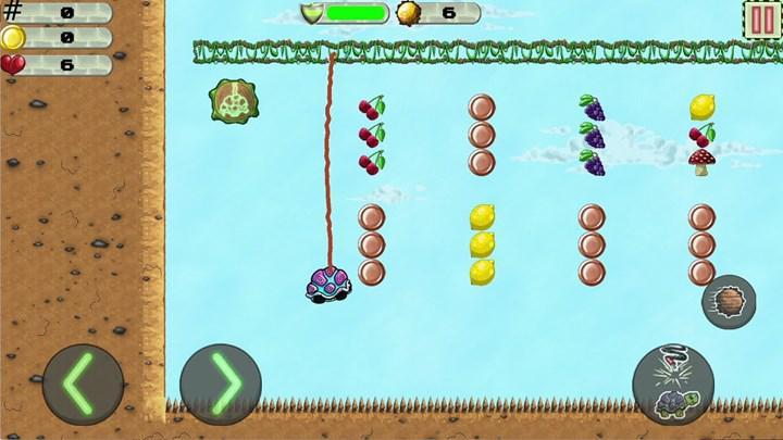 Fizik tabanlı bulmaca oyunu Bungee Turtle, mobil cihazlar için ücretsiz olarak yayınlandı
