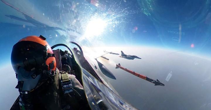F-16'larda kullanılacak Bozdoğan füzesinin havadan atış testi tamamlandı