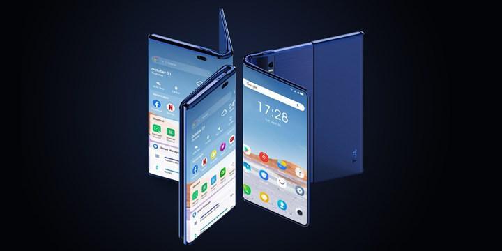 TCL hem katlanabilir hem genişleyebilir bir telefon konsepti tanıttı