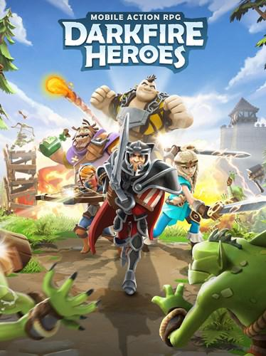 The action role-playing game Darkfire Heroes is released for mobile devices free of charge