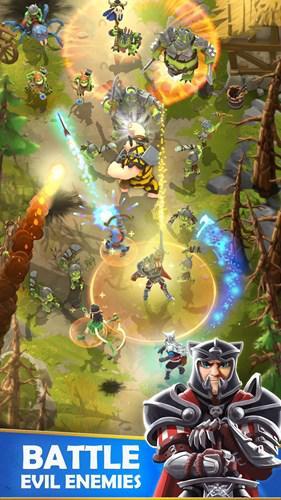 Aksiyon rol yapma oyunu Darkfire Heroes, ücretsiz olarak mobil cihazlar için yayınlandı