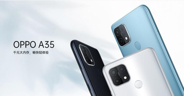 Oppo A35 introduced: Helio P35 processor, 6.52-inch screen and 4320 mAh battery